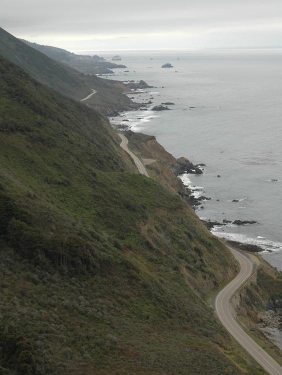 Big Sur coast, looking south.